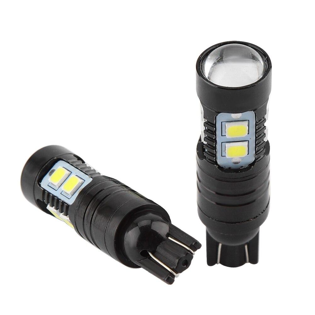 2pcs 50W 921 912 T10 T15 LED 6000K White Backup Reverse Fog Lights Bulb Lamp Car Fog lamp Car Accessories Car Styling