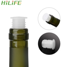 Hilife 10 Stuk/set Rode Wijn Flessenstop Glazen Fles Besparen Plug Bar Tool Plastic Wijnfles Cap Stopper Bar Accessoires