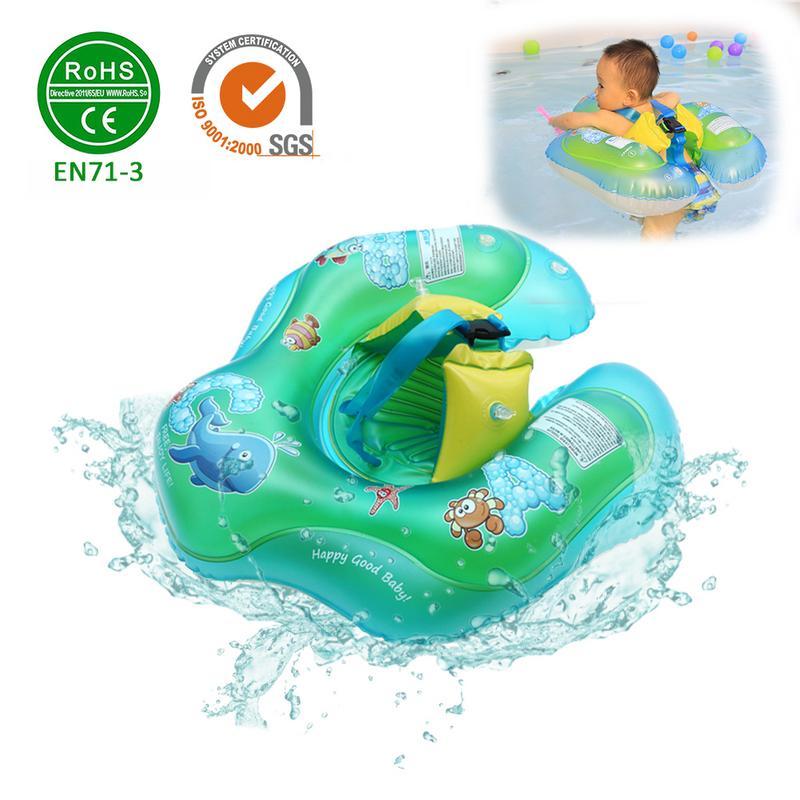 Детский Надувной Кольцо младенческой подмышки Плавающий поплавок ребенка