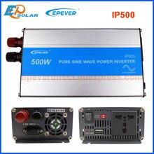 EPever-IPower-panneau solaire 500W 12V 24V cc   Onduleur sans grille, 110V, 220V, sortie AC, onde sinusoïdale Pure, USB 1A 5V