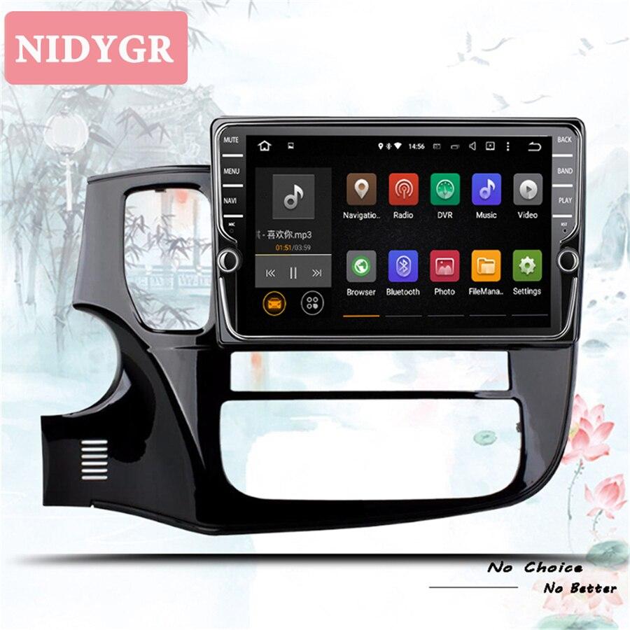 4 + 64gb android 10.0 rádio do carro leitor de vídeo multimídia navegação gps para mitsubishi outlander 3 2012-2018 carro cassete dvd 2 din