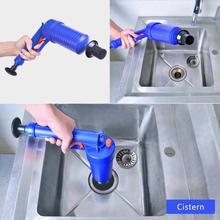 Luchtpomp Druk Pijp Plunger Ontstopper Riool Zinkt Wastafel Pijplijn Verstopt Remover Badkamer Keuken Wc Cleaning Tools