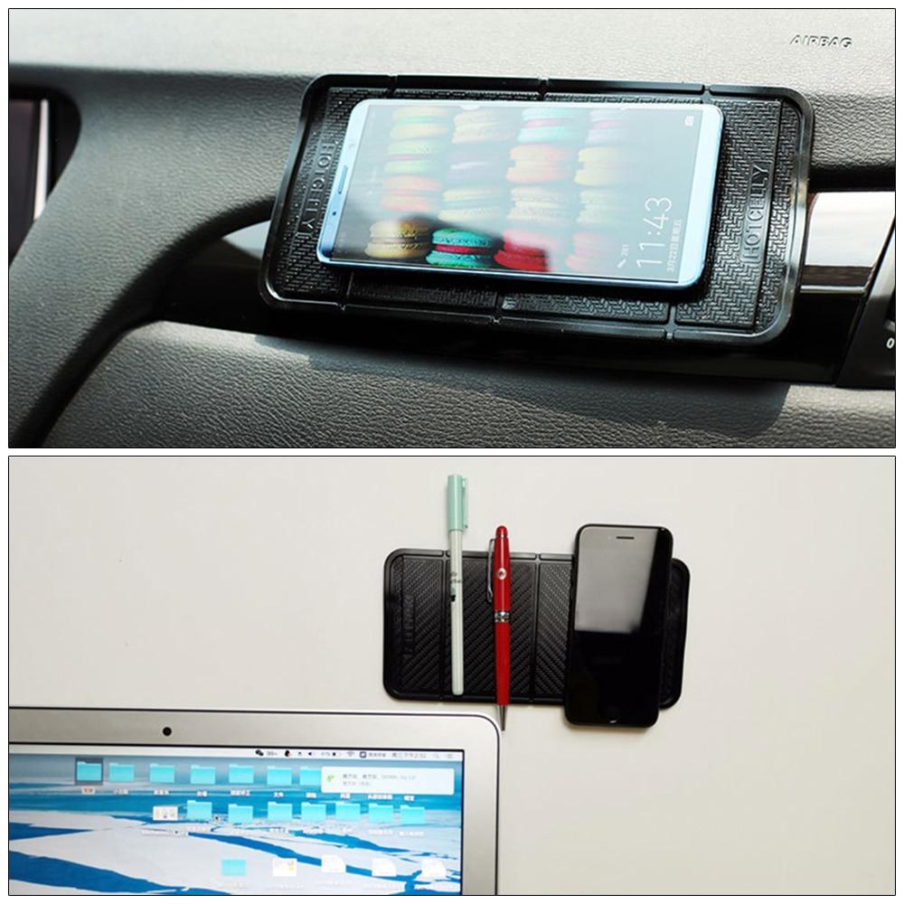 Gadget de carro Anti Slip Sticky Mat Anti-Slip Multi-Função Dobrável Anti Slip Pad Fixo Gel Dupla Face carro Anti-slip PU Nano Pad