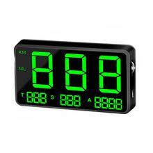 C80 디지털 자동차 gps 속도계 방수 속도 표시 km/h mph 자동차 자전거 오토바이 자동차 전자 액세서리