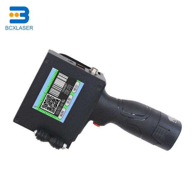 Impresora de inyección de tinta portátil inteligente multifuncional para código de barras, etiqueta, fecha, hora de impresión