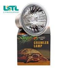Lampe chauffante Reptile pour animaux 25/50/75W   Tortue Lizard UVA UVB, émetteur chauffant pour animaux de compagnie, oiseau de Basking, serpent