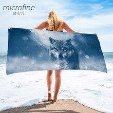 Toalha de praia de secagem rápida 70x140cm de pouco peso toalha de banho de microfibra gym curso sauna yoga esteira cobertor ao ar livre toalha anti areia