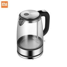Xiaomi Glas Elektrische Wasser Wasserkocher Edelstahl Hause Led Licht Tee Topf 1,7 l 220v Temperatur Control Anti-trockenen Wasserkocher