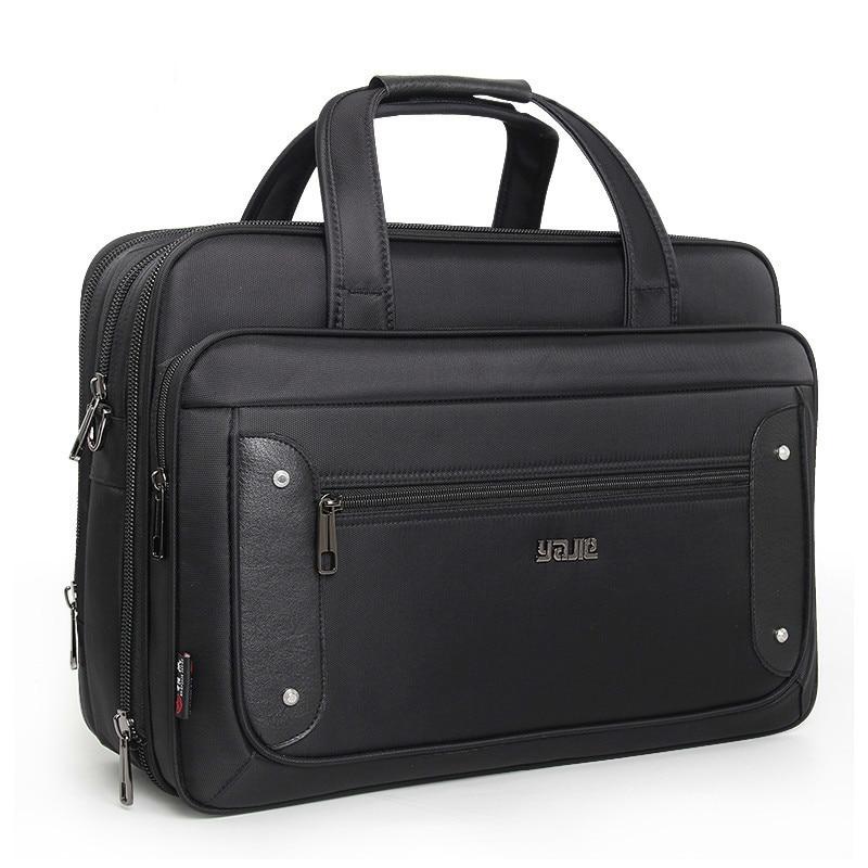 2021 Top-level Super Capacity Plus Business Men's Briefcase Women Handbags Laptop Bags 16 17 19 Inch Oxford Crossbody Travel Bag