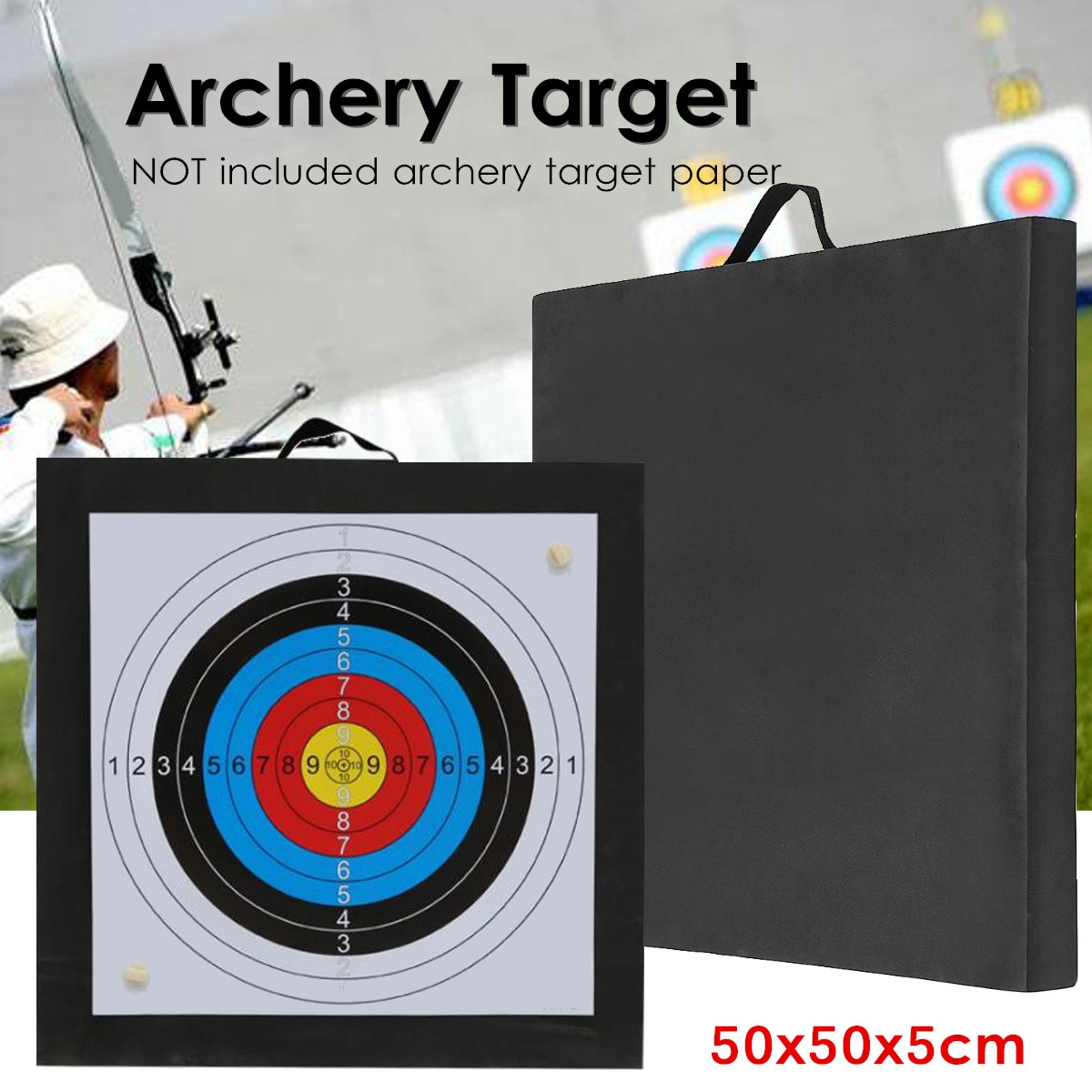 Y Target высокая плотность EVA пена для стрельбы тренировочная доска для занятий спортом на открытом воздухе аксессуары для охоты Рекурсивный л...