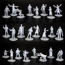 Maquettes en plastique Arkham horreur personnage Figure 8 pièces 1/72 échelle modèle course groupe jeu livraison gratuite