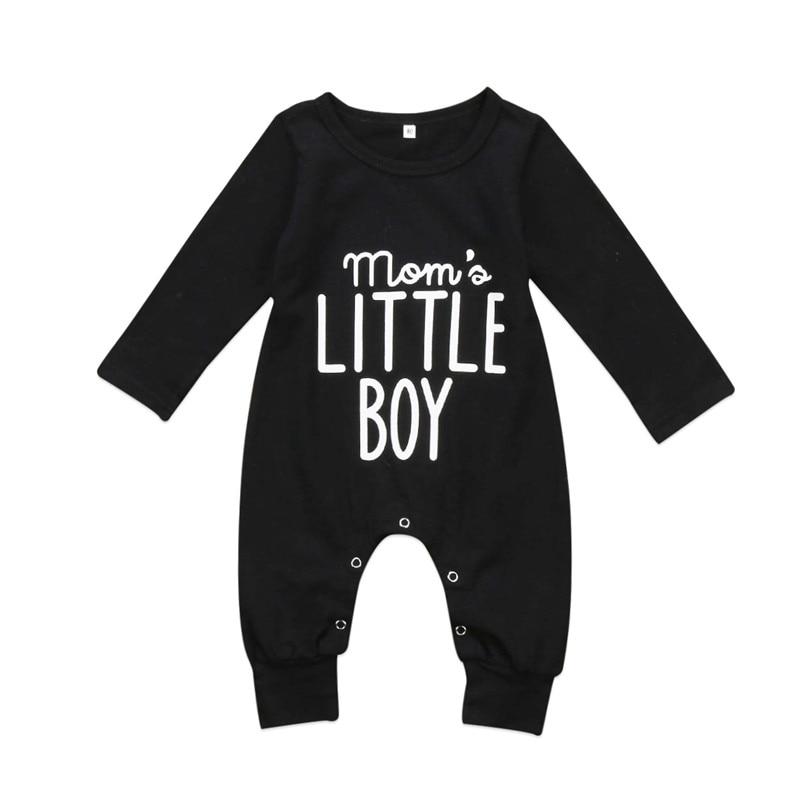 Recién Nacido ropa para bebé (niño o niña) mamelucos de manga larga de algodón-piezas mameluco ropa de mono de combinación de edad 0-24M