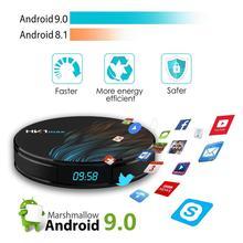 HobbyLane HK1 MAX Android 9,0 4K Dispositivo de TV inteligente 4G + 64G RK3328 Quad Core WIFI 3D Set de reproductor multimedia-top caja de 4096x2160 píxeles d29