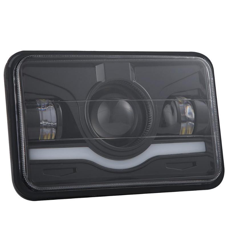 EV-CSP 4x6 pulgadas 150W IP67 faro LED Hi-Lo rojo DRL haz sellado para Chevrolet coche camión SUV