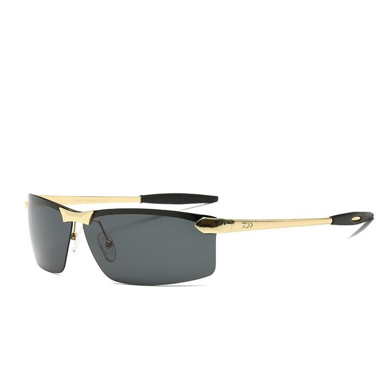 3 colores Daiwa polarizadas pesca gafas de deporte al aire libre anti-UV gafas de sol escalada ciclismo pescado gafas de sol 2 estilos