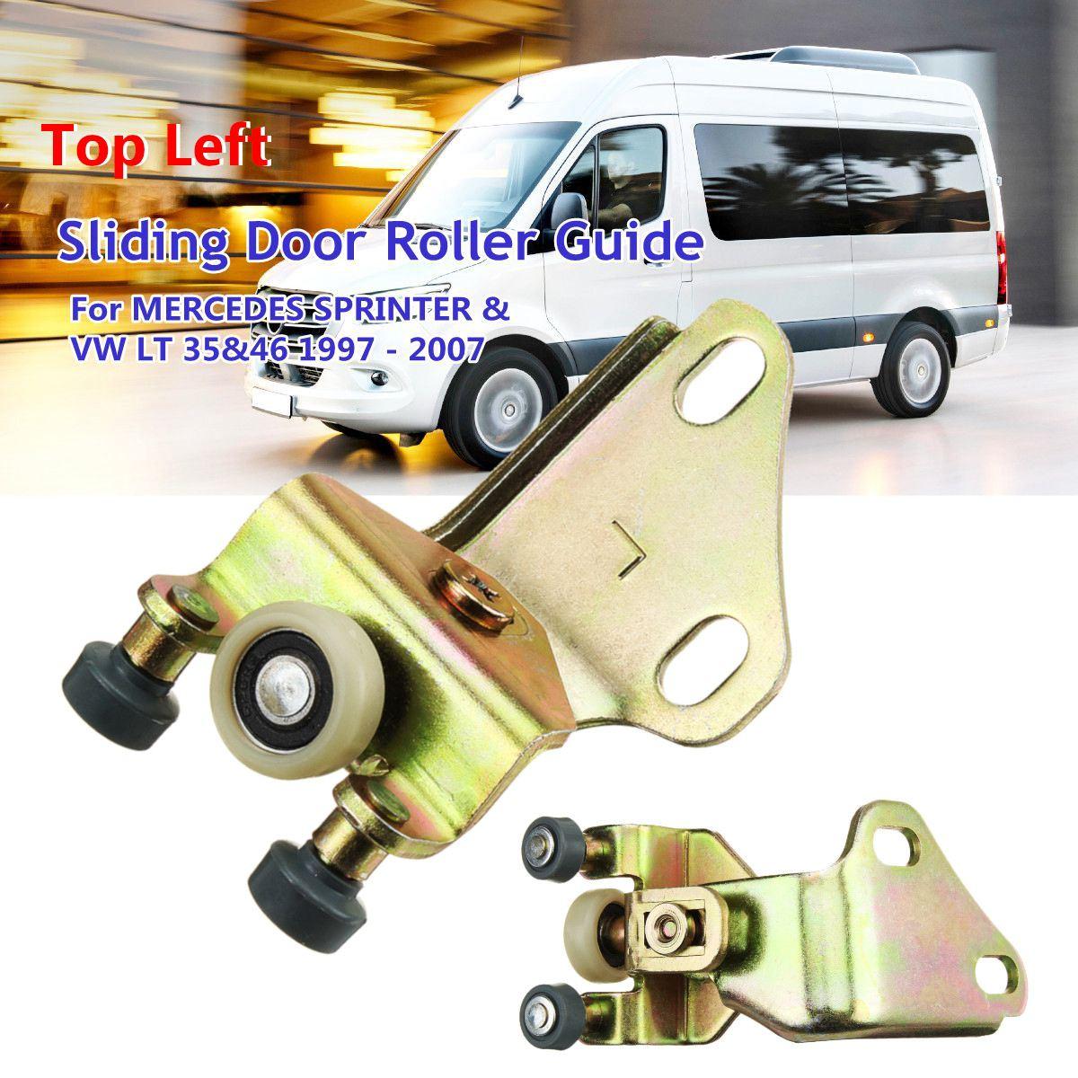 Guía de rodillos para puerta deslizante 9017600947 901 760 09 47 de la parte superior izquierda para MERCEDES SPRINTER y para VW LT 35 y 46