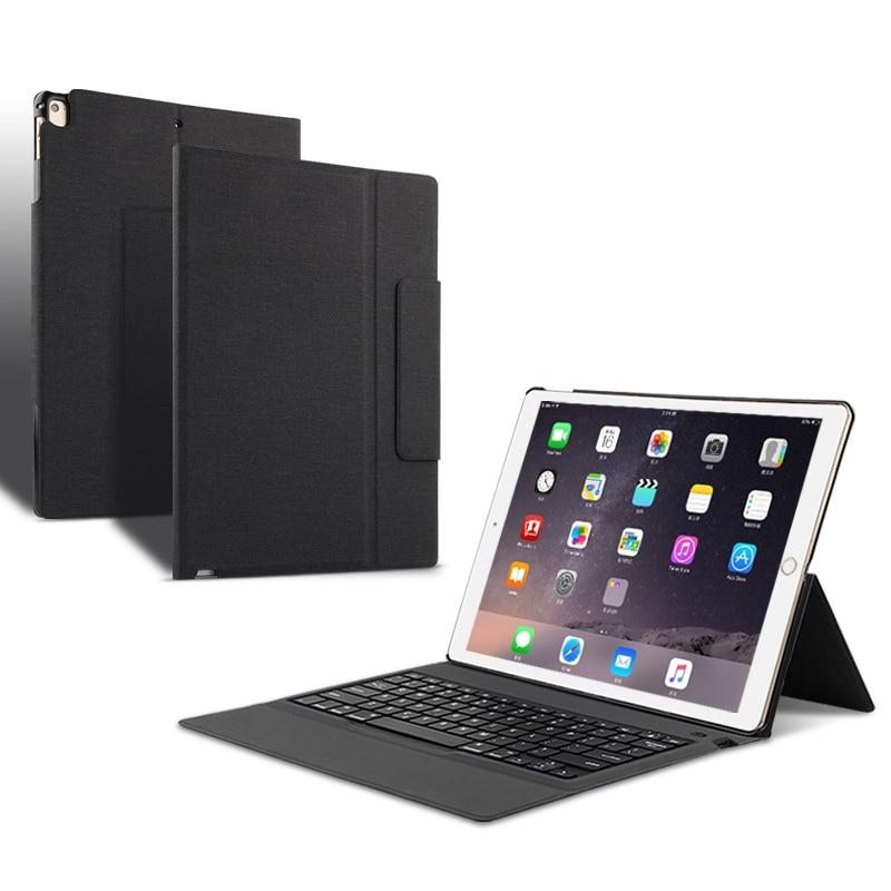 """Funda protectora para ipad Pro 12,9 2015 edición teclado inalámbrico Bluetooth para ipad pro12.9 ipad 12.9"""" A1584 A1652 Tablet"""