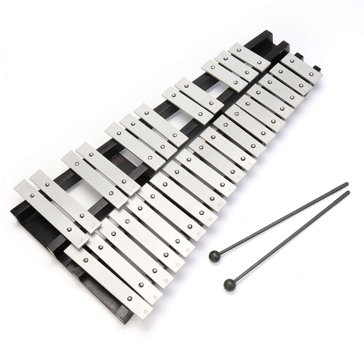 Складные 30 нот ксилофон ударные Glockenspiel вибрафон Ударные музыкальные инструменты с сумкой для хранения музыкальный ксилофон