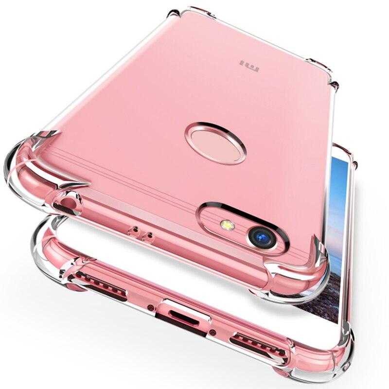 Чехол для телефона xiaomi redmi 6a 4x 5plus s2 чехол tpu кристальная подушка безопасности Чехол для xiaomi redmi note 7/5/6 7 pro Чехол для глобальной версии