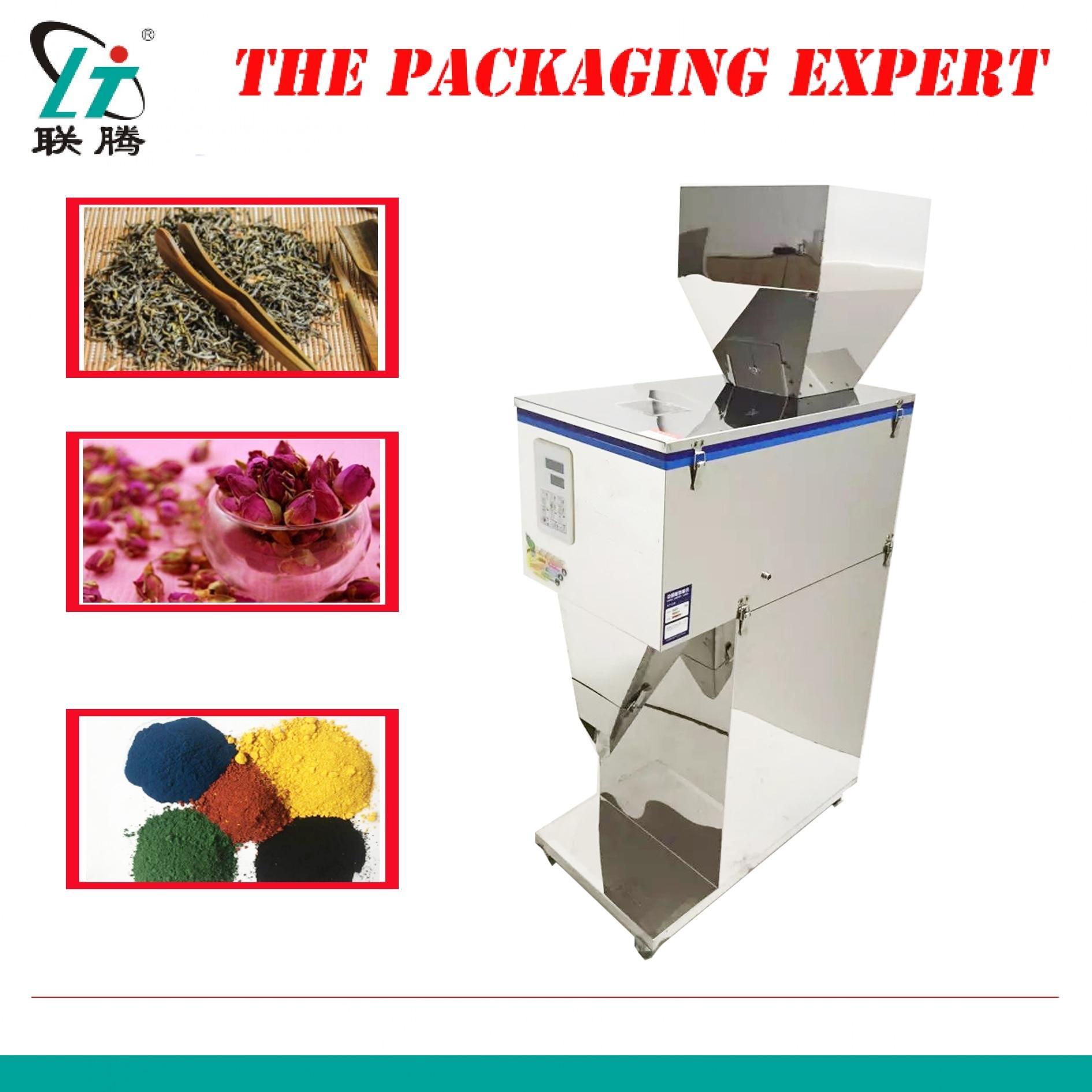 Máquina de llenado y pesaje de 5000g, granos de café, hoja de té, grano, sal, arroz, máquina de estanterías, leche en polvo, relleno, envío gratis