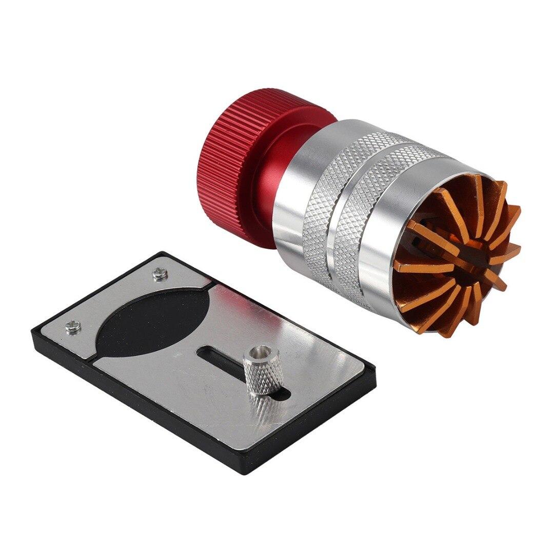 Shellhard Watch plástico cristal relojero Lift tapa delantera removedor Inserter reloj vidrio quitar reparación abridor herramienta