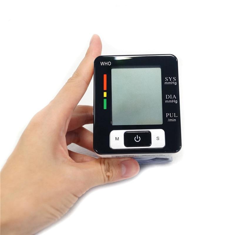 Monitor de presión arterial para muñeca, probador inteligente de presión, equipo médico, dispositivo de salud, medidor de presión arterial electrónico
