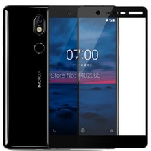 Front Saver 3D Tempered Glass For Nokia 7 Plus Full Cover 9H film Explosion-proof Screen Protector F