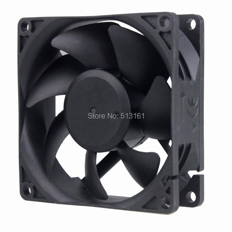100 Uds 80mm 80 CE sin escobillas ventilador de refrigeración axial 80mm 8cm 80x25mm AC 110V 115V 120V 220V 240V Industria de refrigeración refrigerador ventilador