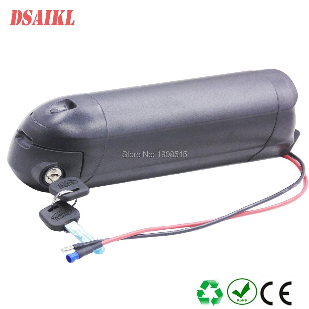 Batería ebike 48V 200W 350W 500W 6Ah 7Ah batería de botella de tamaño pequeño