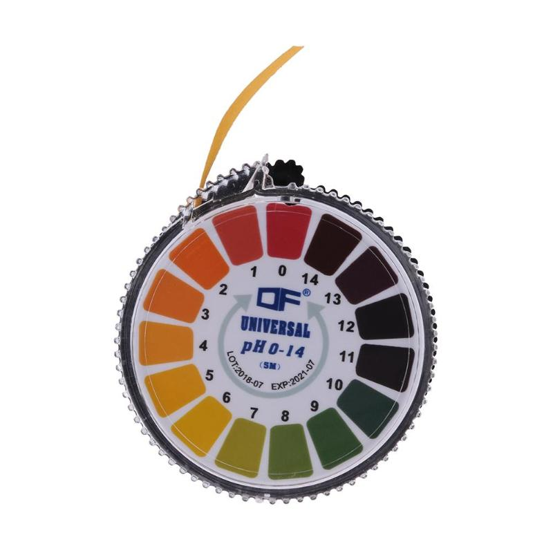 5m 1-14 PH Alkaline Acid Indicator Meter Test Paper Roll For Water Urine Saliva Soil Litmus Paper Testing Measuring