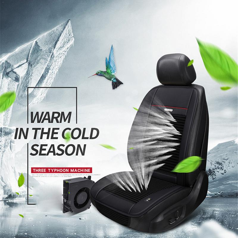 Охлаждающая подушка для автомобиля, подушка для охлаждения сиденья с 3 вентиляторами, 12 В/24 В, охлаждающая подушка для охлаждения сиденья, лето крутое сиденье