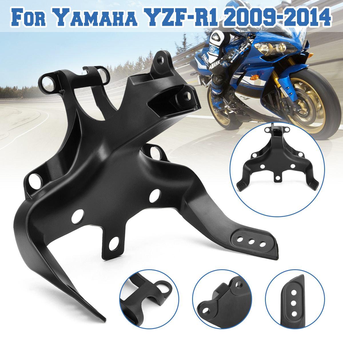 Frente da motocicleta Carenagem Carenagem Fique Farol Suporte De Montagem Para Yamaha YZF-R1 2002 03 04 05 06 07 08 09 10 11 12 13 14
