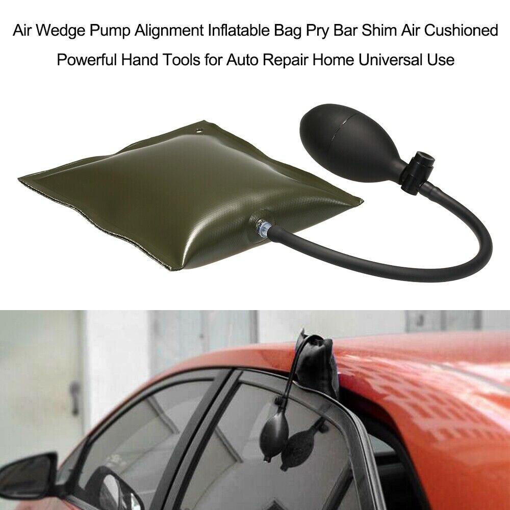 Door Air Wedge Pump Alignment Inflatable Bag Bar Shim Air Pry Bar Shim Air Window Abjustable Cushioned Bag Alignment Pry