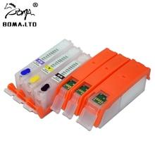 BOMA. LTD PGI 480 CLI 481 480XXL 481XXL заправка чернильный картридж для Canon PIXMA TS6140 TR7540 TS8140 TS8240 TS9140 TR8540 с чипом