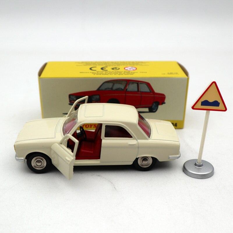 Atlas 143 dinky brinquedos 1428 para p ~ geot 304 branco diecast modelos edição limitada coleção brinquedos carro