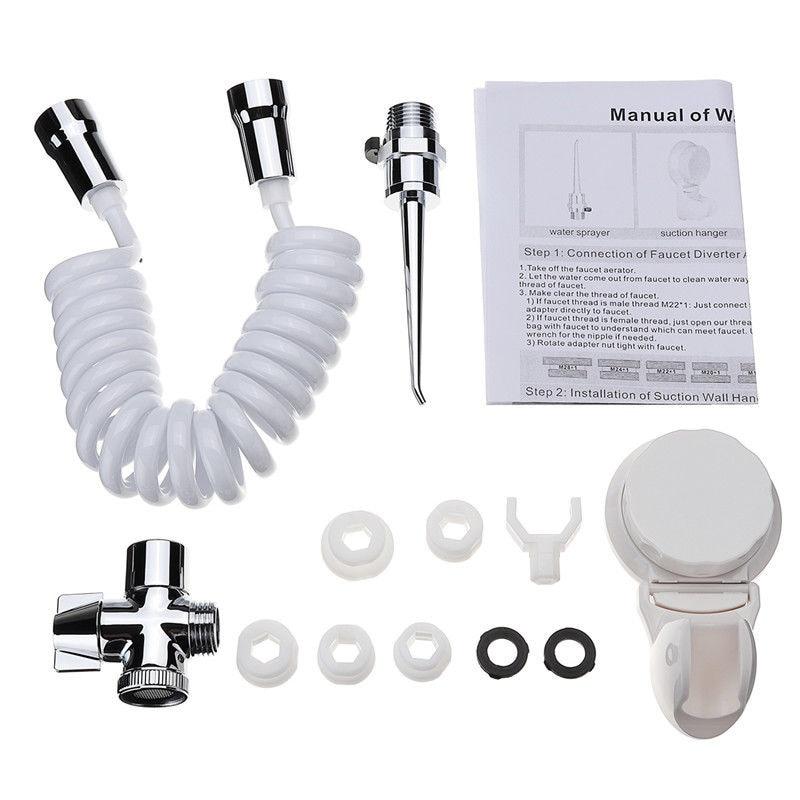 Heißer verkauf 12 Pcs Dental Spa Wasser Jet Flosser Oral Irrigator Zähne Zahnbürste Pick Reiniger