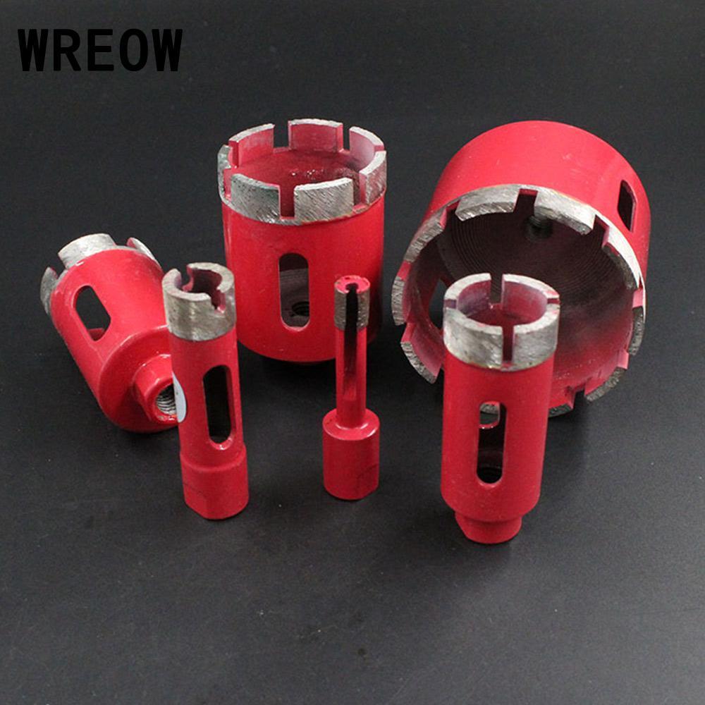 Brocas de diamante soldado, 1 unidad de 8/10mm, 6-75mm, brocas de sierra con conexión M10, brocas de diamante, altura de agujero, conexión de sierra
