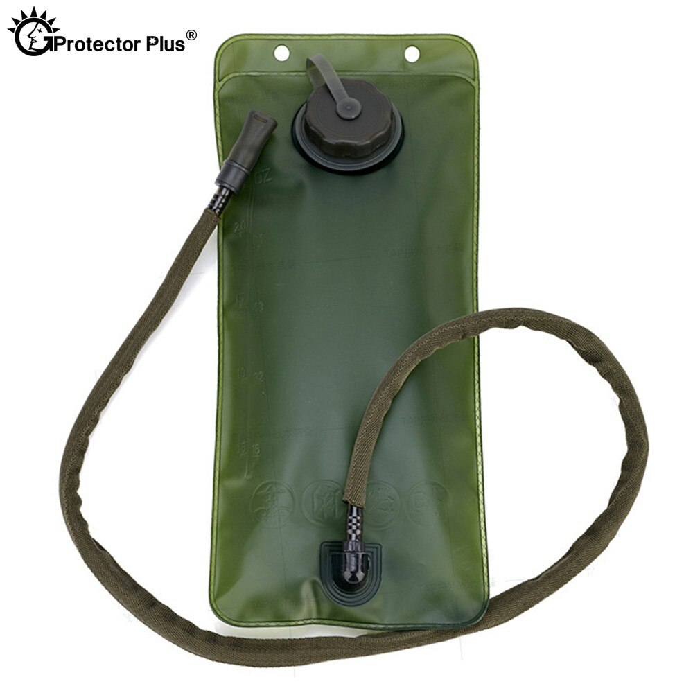 Bolsa de hidratación 3L bladgas mochila de Montañismo caza al aire libre bolsas de beber TPU bolsa de agua portátil ambiental