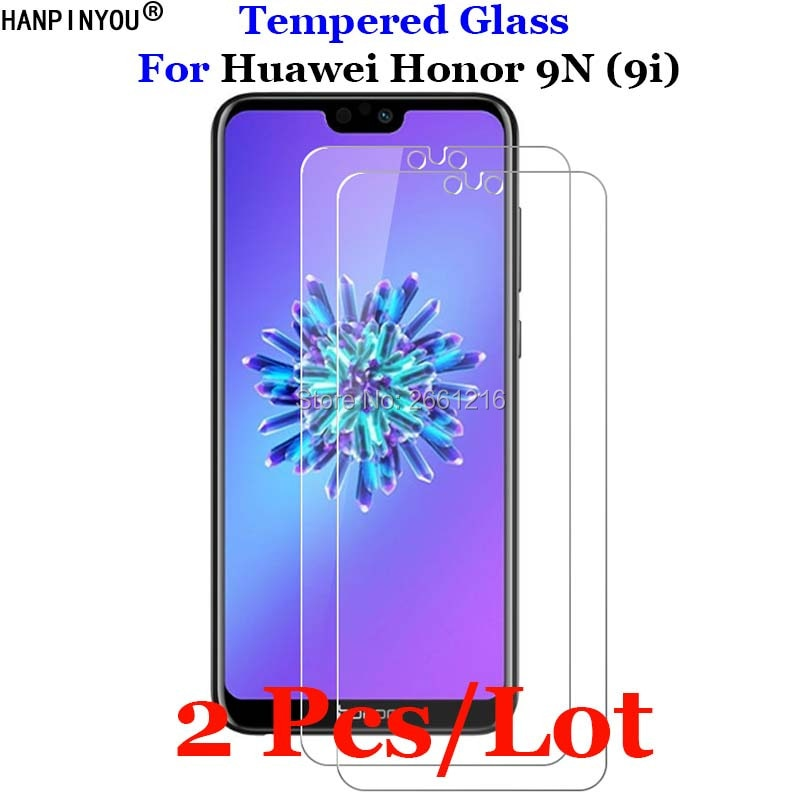 2 Pcs/Lot For Huawei Honor 9N Tempered Glass 9H Premium Screen Protector Film For Huawei Honor 9N (9