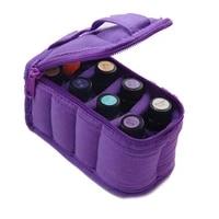 Etui de transport pour huiles essentielles  Mini boite de collecte Portable a 8 grilles mallette de rangement dhuile essentielle en rouleau de 5 ml