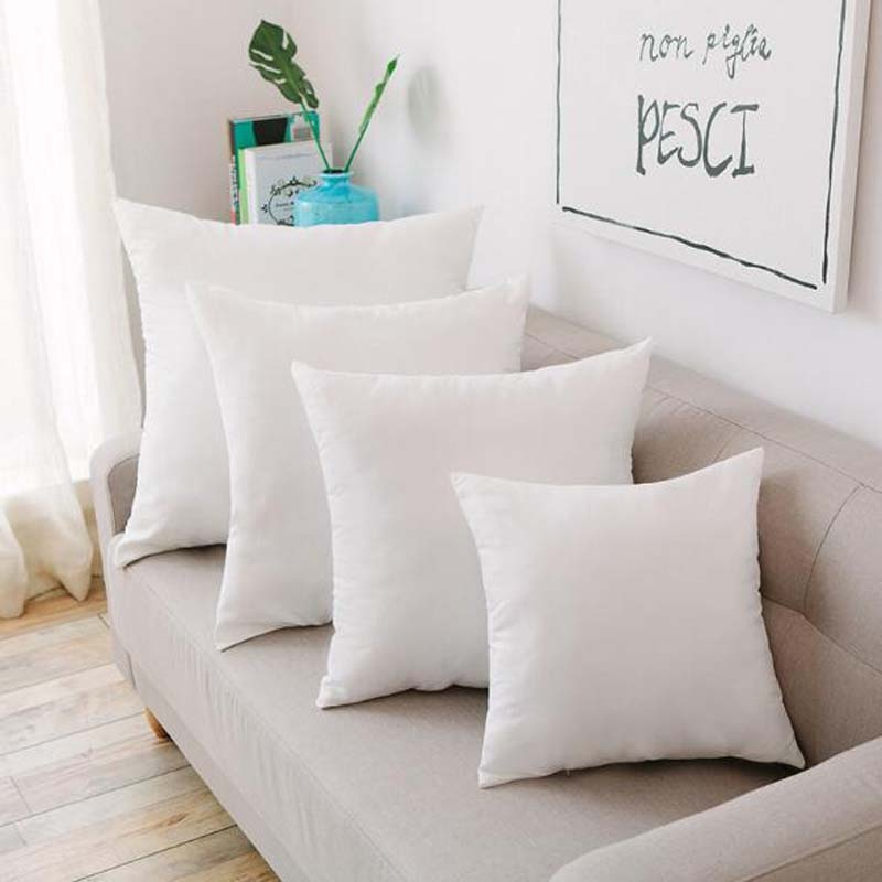 Cojín de relleno interior, almohada central acolchada de algodón para sofá, cojín de almohada suave con núcleo de relleno 14/16/18/20/22/24 Inch8