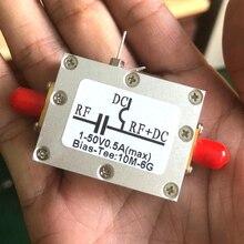 RF Biaser Bias T 10MHz-6GHz DC blocker Koaxial feed + fall FÜR HAM radio RTL SDR LNA Geräuscharm Verstärker BiasTee Laser stick