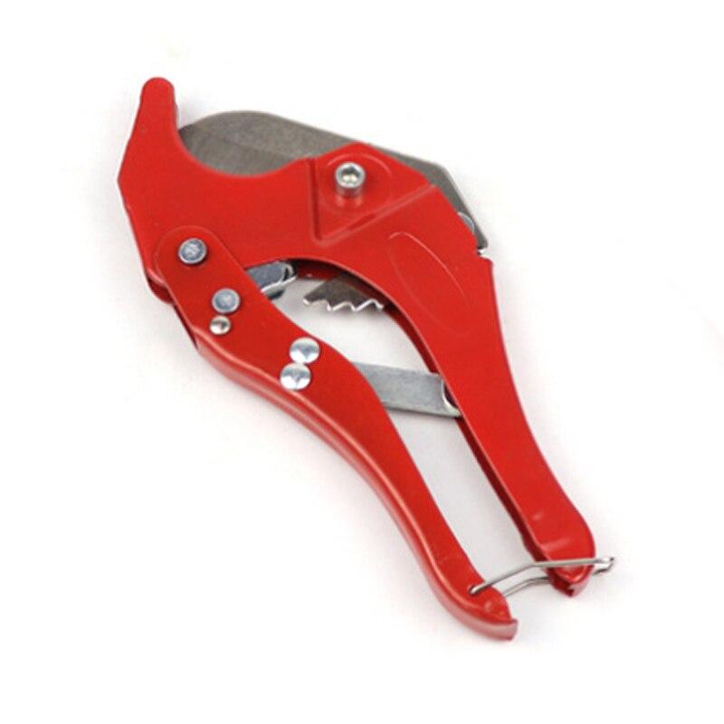 42mm PVC cortador de tubería tubo de agua tubo cortador de manguera tijera cuchillo de trinquete herramienta de plomería herramienta de mano