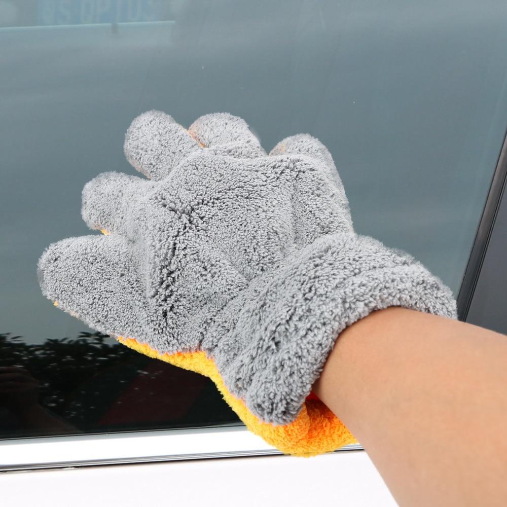 LEEPEE microfibre lave-Auto nettoyage Auto soin lavage gants fenêtre lavage outil voiture-style