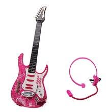 KSL441977 Elektrische Gitarre Gitarre Musical Instrument Spielzeug für Kinder