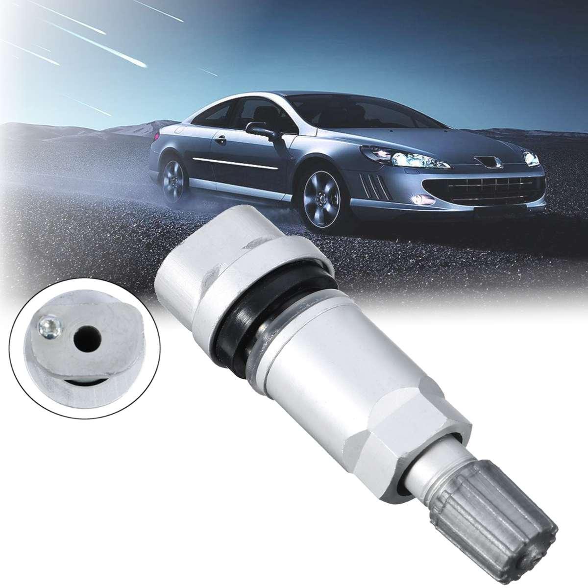 TPMS, Kit de reparación de válvula con Sensor de presión de neumáticos para Peugeot 407 607 807 /Citroen C4 C5