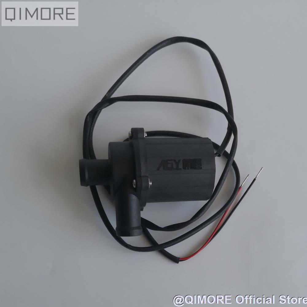 Bomba de agua eléctrica sin escobillas 12V para Scooter JOG50 90 JOG100 MIO100 RS100 GR125 BWS125 GY6 convertido en motor de refrigeración por agua