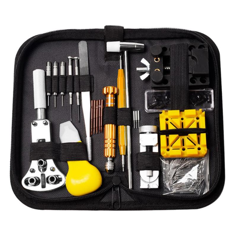 148pcs Professional Watch Tools Watch Opener Link Pin Remover Pry Screwdriver Watch Repair Tools Kit