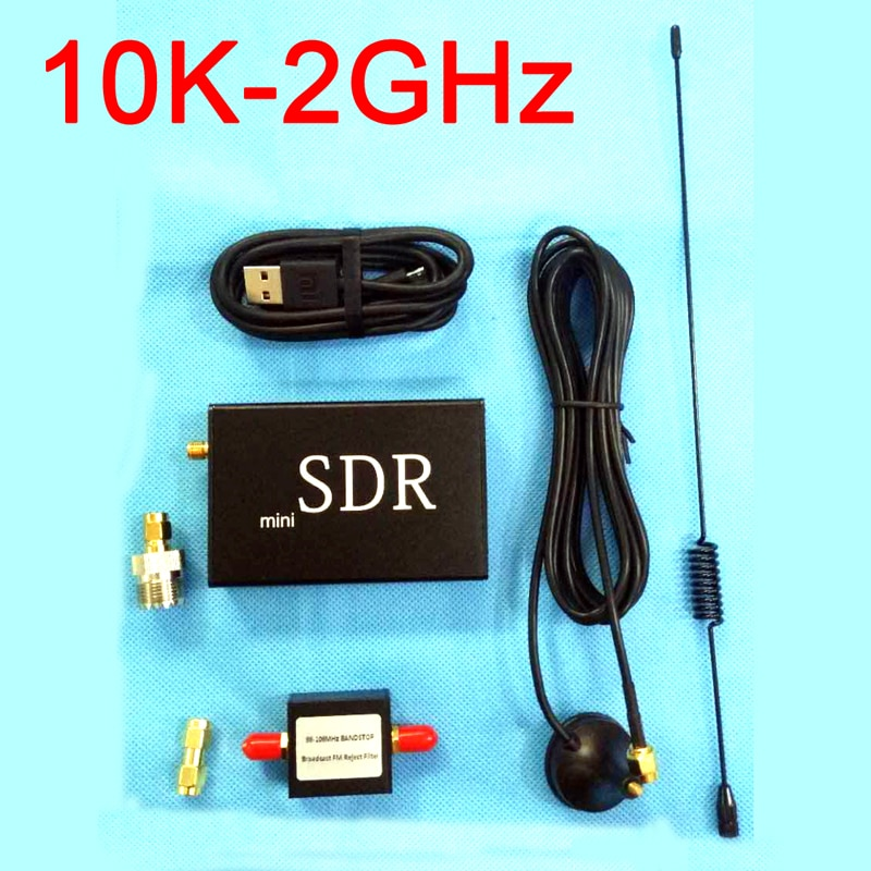 MiNi SDR 10 karat-2 ghz Full-band Software Radio SDR Empfänger SDRPLAY + FM stop band filter SDRPLAY RSP1