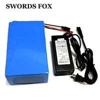 swords fox 18650 lithium battery 72v 20ah 2000w built in 40a bms with 84v 5a charger electric bike battery
